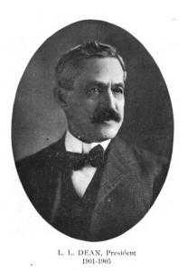 L. L. Dean 1911